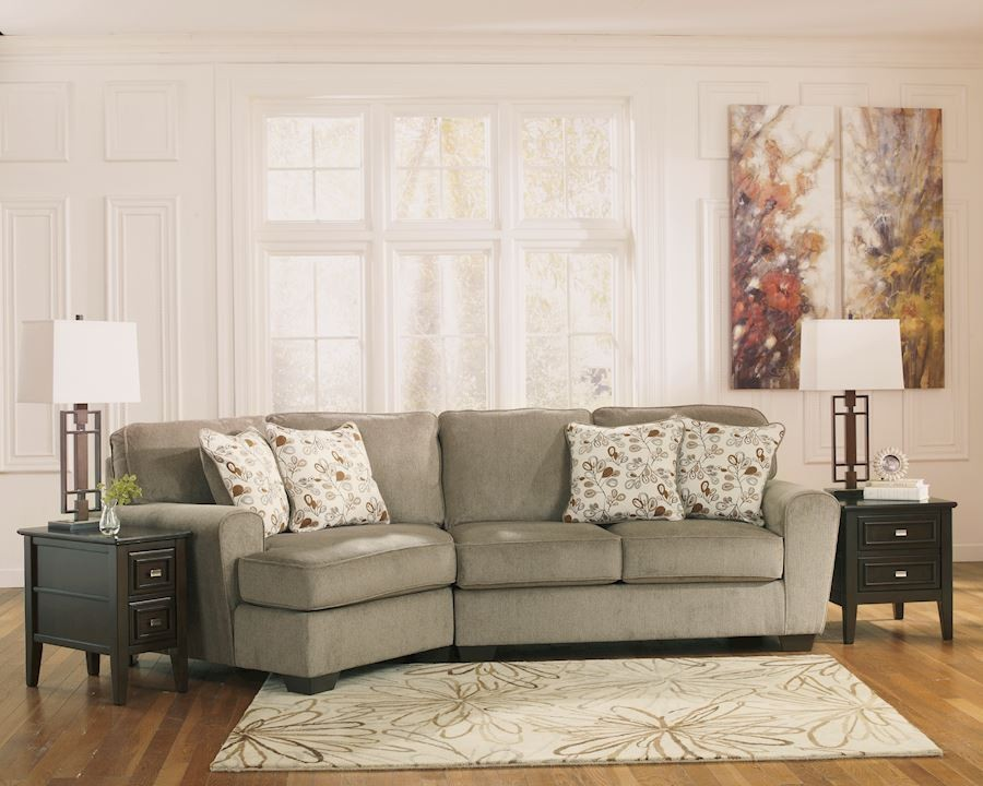 Stunning Ashley Two Piece Sectional Patola Park Living Room Group Speedyfurniture
