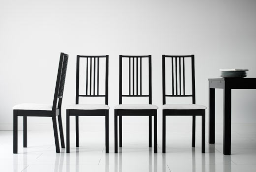 Stunning Black Leather Dining Chairs Ikea Modern Nice Ikea Dining Room Chairs Lovable Leather Dining Room