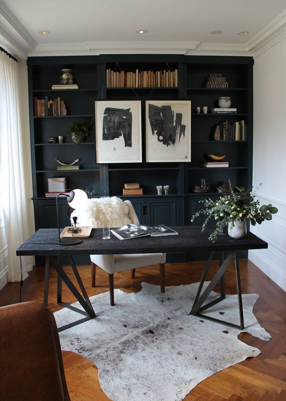 Stunning Black Office Furniture Best 25 Black Office Ideas On Pinterest Home Office Paint
