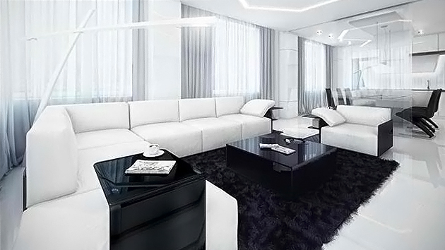 Stunning Black White Chairs Living Room White And Black Living Room Luxury Home Design Ideas