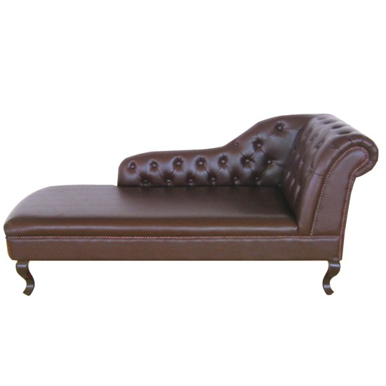 Stunning Brown Chaise Lounge Indoor Stylish Chaise Lounge Leather Modern Brown Leather Chaise Lounge