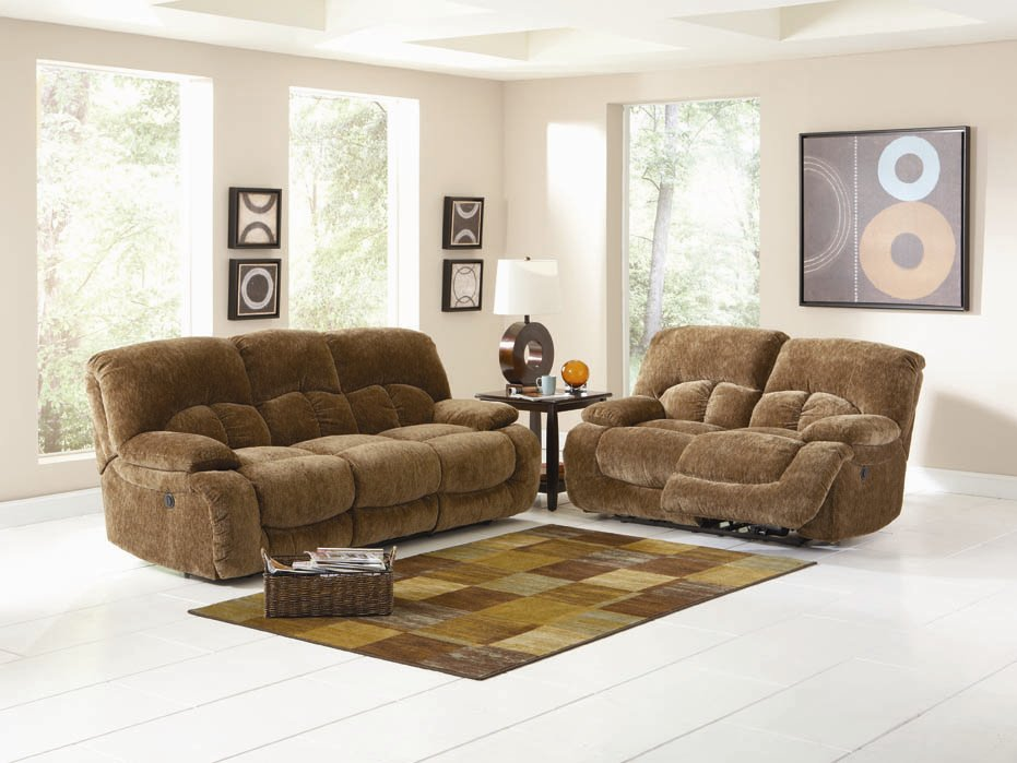Stunning Casual Sofas And Chairs Fawn Casual Brown Ultra Plush Power Motion Sofa Set Sofa Sets