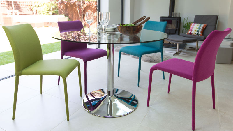 Stunning Coloured Dining Room Chairs Modern Contemporary Dining Chairs Leather White Coloured