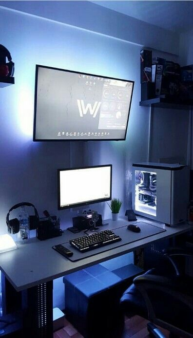 Stunning Computer Desk Setup Ideas Best 25 Computer Setup Ideas On Pinterest Gaming Computer Pc