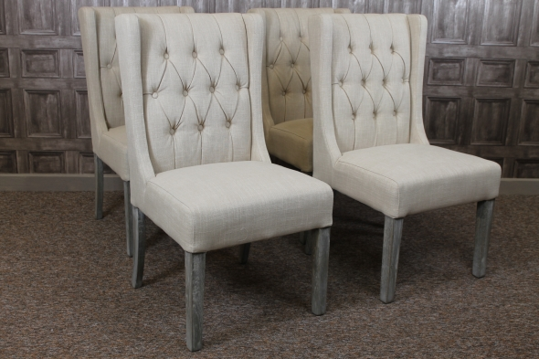 Stunning Cream Dining Chairs Cream Upholstered Dining Chairs Insurserviceonline