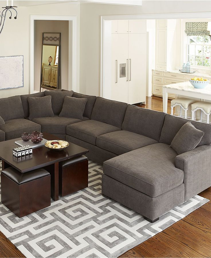 Stunning Deep Sectional Sofas Living Room Furniture Best 25 Dark Grey Couches Ideas On Pinterest Grey Couches