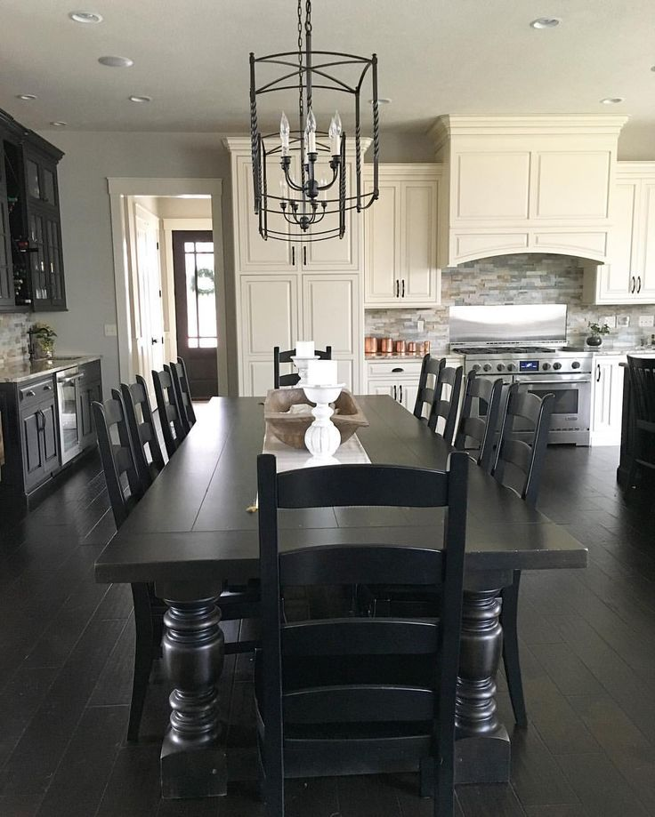 Stunning Dining Room Chairs Black And White Best 25 Black Kitchen Tables Ideas On Pinterest Black Chairs
