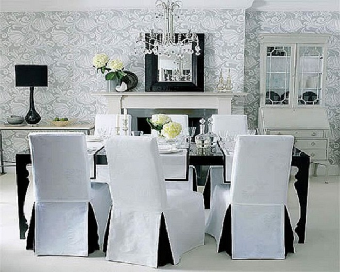 Stunning Dining Room Chairs Black And White Chairs Astounding Black And White Dining Chairs Black And White