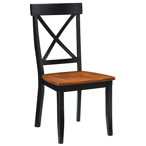 Stunning Dining Side Chairs Black Dining Side Chairs 2 Pack 6003876 Hsn