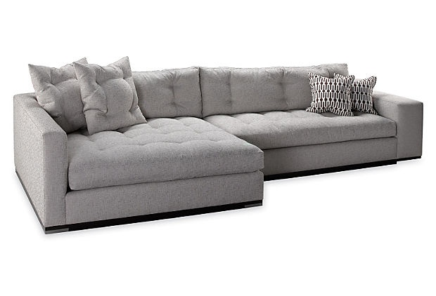 Stunning Double Chaise Lounge Sectional Sofa Lounge Sectional Sofa With Double Chaise Creditrestore Regard To