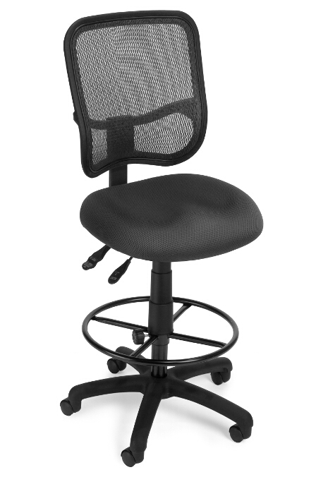 Stunning Ergonomic Task Chair Model 130 Dk Comfort Series Ergonomic Mesh Swivel Armless Task