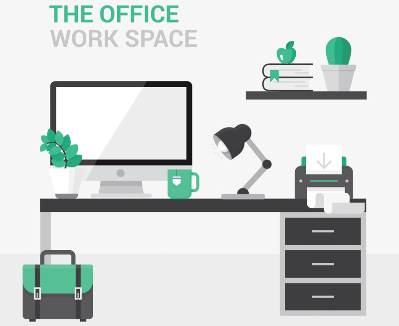 Stunning Ergonomic Workstation Design The Healthy Workplace Workstation Design Desks Officeworks