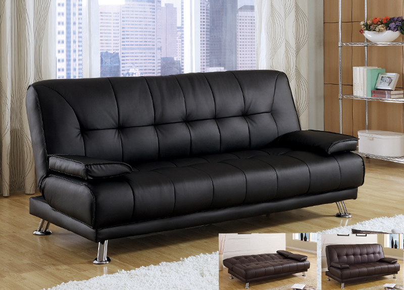 Stunning Faux Leather Futon Couch Adorable Futon Leather Sofa Bed Co Fine Furniture Dark Brown Faux