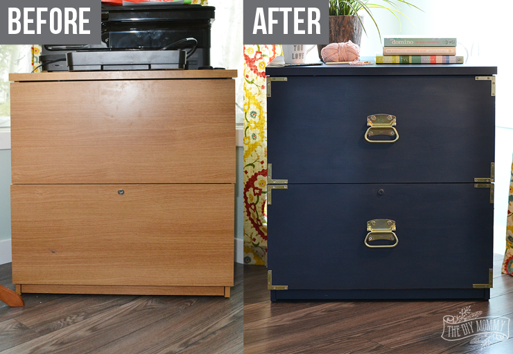 Stunning Filing Cabinets For Home Use A Campaign Dresser Inspired Filing Cabinet Makeover Win The