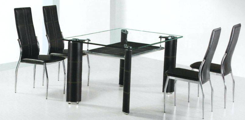 Stunning Glass Topped Tables And Chairs Ikea Dining Table Set 4 Chairs Mitventuresco