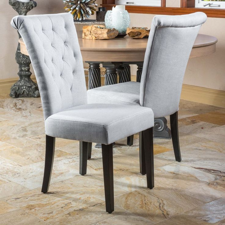 Stunning Grey Fabric Dining Room Chairs Best 25 Fabric Dining Chairs Ideas On Pinterest Mismatched