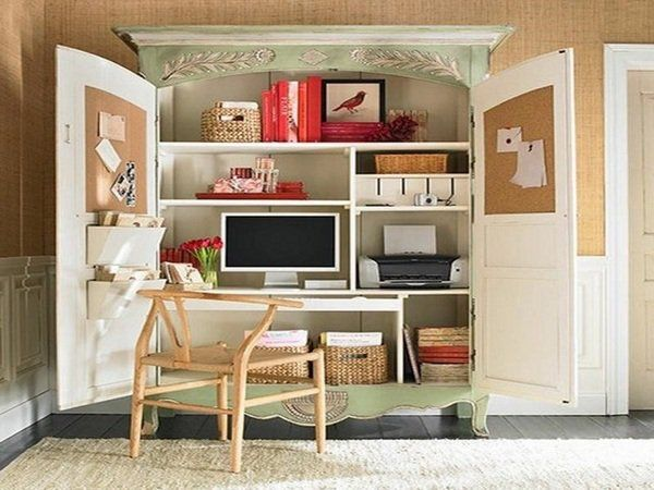 Stunning Home Office Armoire Best 25 Computer Armoire Ideas On Pinterest Craft Armoire