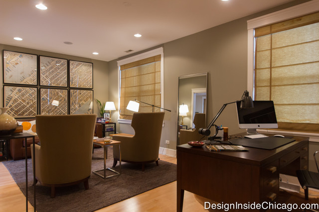 Stunning Home Office Seating View Of Seating Office Seating Area From Rosewood Desk