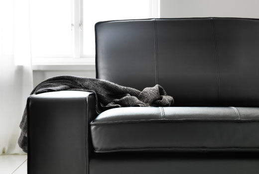Stunning Ikea Black Leather Sofa Bed Leather Faux Leather Couches Chairs Ottomans Ikea