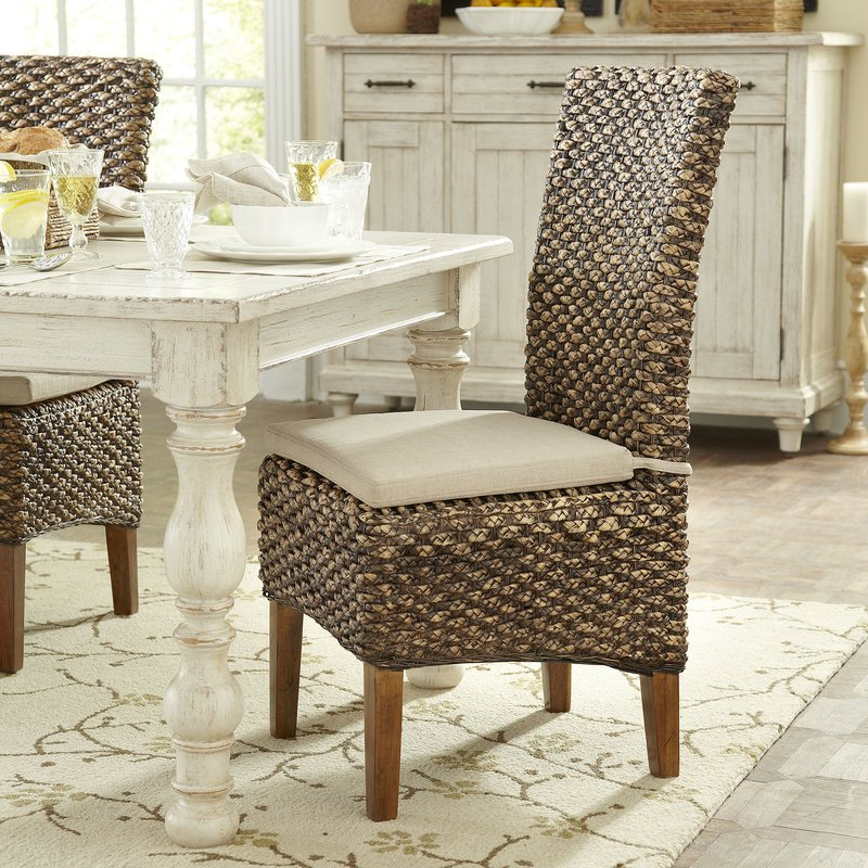 Stunning Kitchen Side Chairs Wicker Rattan Kitchen Dining Chairs Youll Love Wayfair