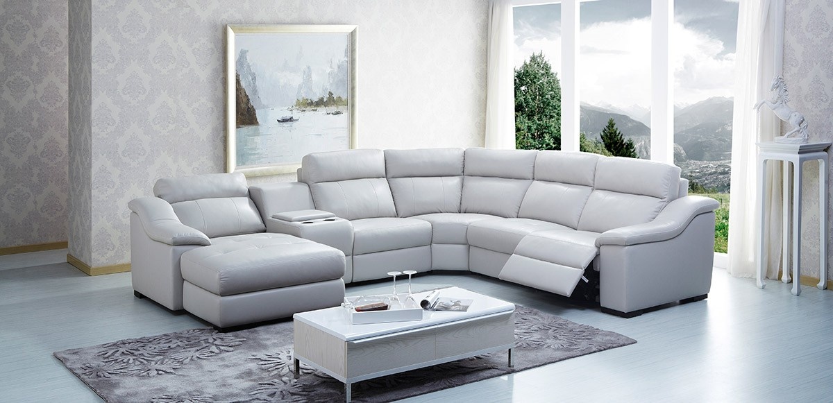 Stunning L Shaped Recliner Sofa Creative Of Genuine Leather Reclining Sofa Sofa Beds Design
