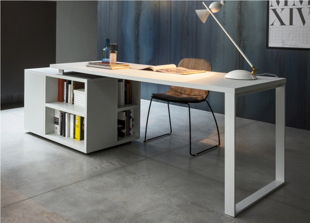 Stunning Large Office Desk Large Office Desk With Right Return Batimeexpo Furniture