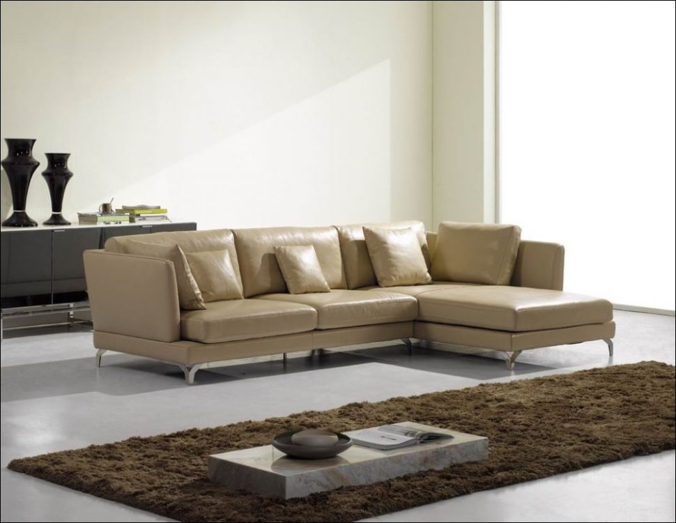 Stunning Leather And Cloth Sectional Furniture Awesome Leather And Cloth Sectional Sofas Leather