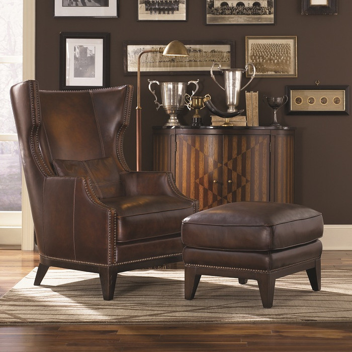 Stunning Leather Chair And Ottoman Chair Ottoman Sets Youll Love Wayfair