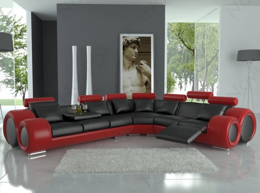 Stunning Leather Sofa Contemporary Design Top 25 Man Cave Sofas From Around The Web