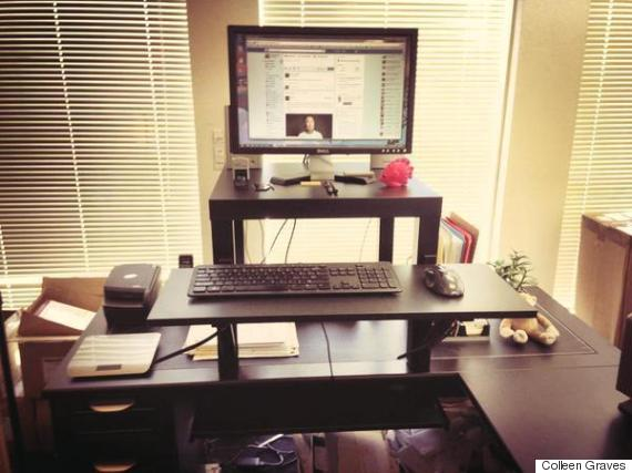 Stunning Lift Top Desk Ikea This 22 Standing Desk Is The Ultimate Ikea Hack Huffpost