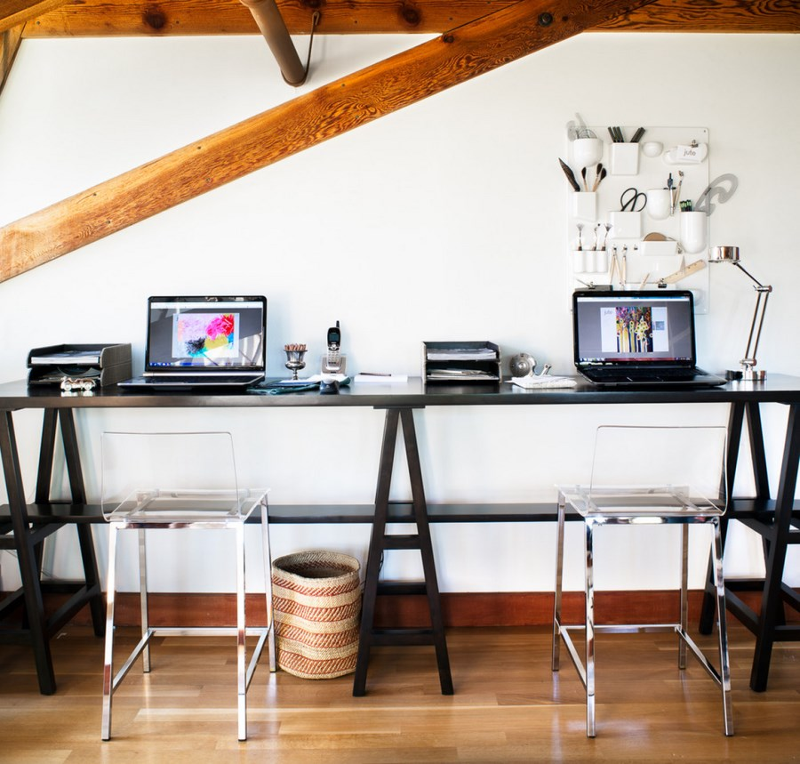 Stunning Long Desks For Home Office Long Wood Office Desk Heavenly Fireplace Plans Free New In Long