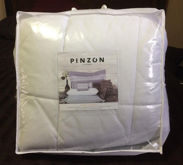 Stunning Mattress Topper Mattress Pad Pinzon Basics Overfilled Ultra Soft Microplush Mattress Pad Review