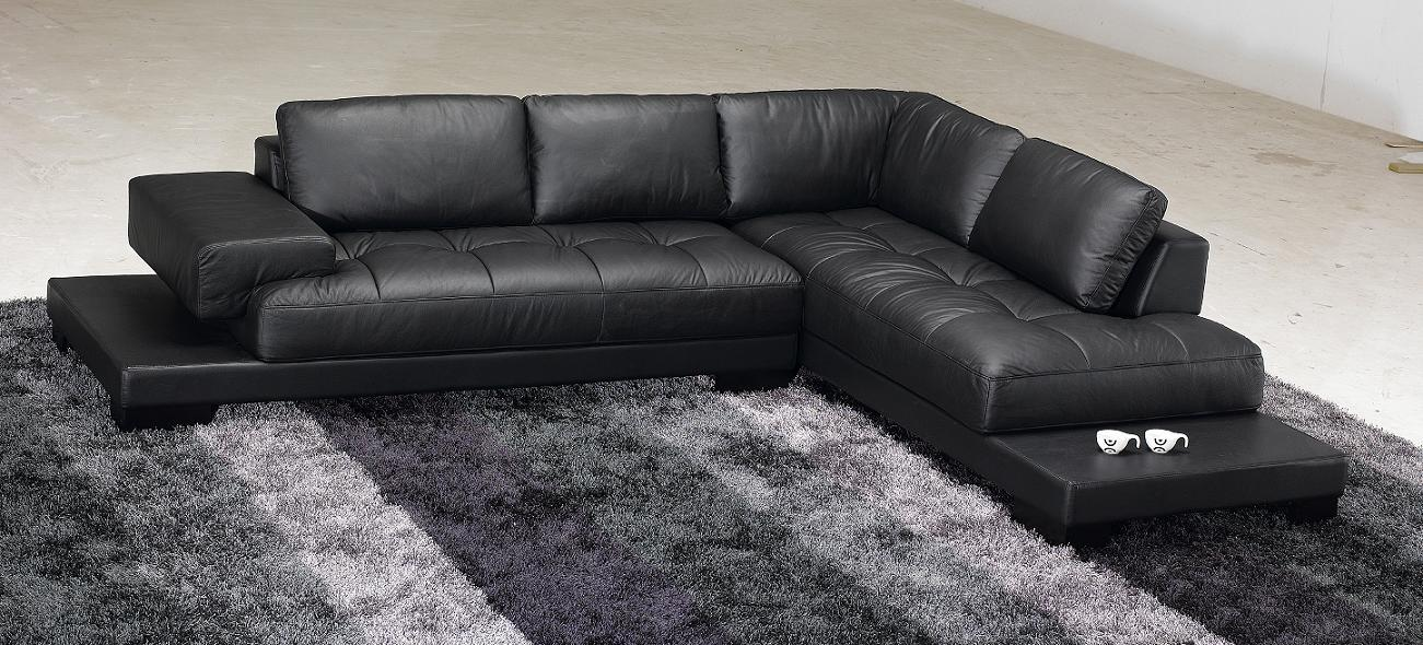 Stunning Modern Black Leather Couch 25 Contemporary Black Leather Sofa Auto Auctions