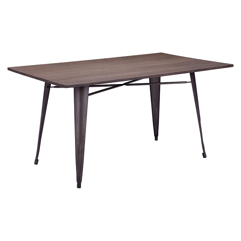 Stunning Modern Rectangular Dining Table Titus Rectangular Dining Table Rustic Wood Modern Dining Tables