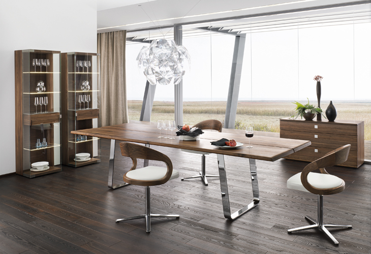 Stunning Modern Wood Dining Table Cool Dining Room Furniture With Modern Dining Table Sustainable