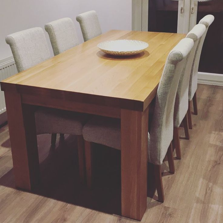 Stunning Oak Dining Table Best 25 Solid Oak Dining Table Ideas On Pinterest Solid Wood