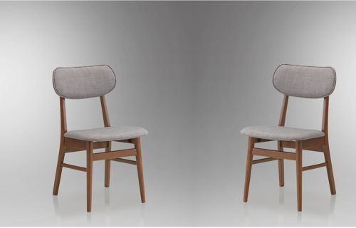 Stunning Padded Seat Dining Chairs Wood Dining Chairs Mid Century Set 2 Piece Padded Seat Cushion