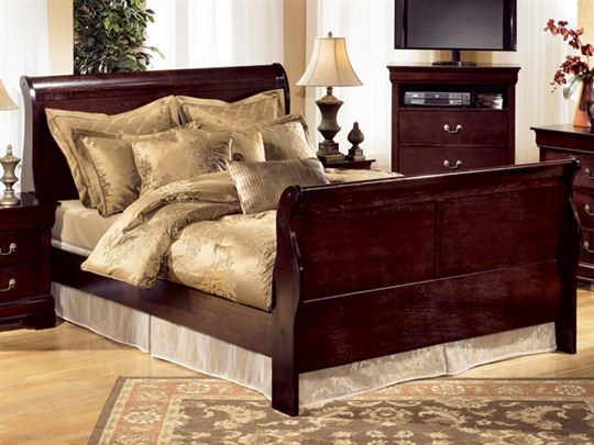 Stunning Queen Size Bed Ashley Furniture Photo Of Ashley Furniture Sleigh Bed With Leighton Queen Storage