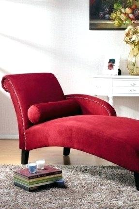 Stunning Red Chaise Lounge Ashley Furniture Red Chaise Lounge Mobiledave