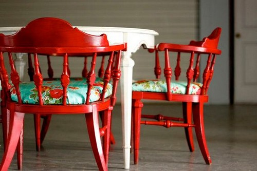 Stunning Red Upholstered Dining Room Chairs 28 Red Dining Chairs In Interior Designs Messagenote