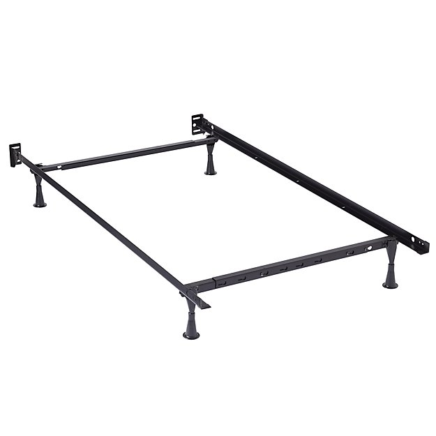 Stunning Steel Bed Frame Full Twinfull Metal Bed Frame The Land Of Nod