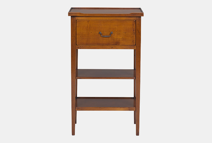Stunning Tall Side Tables Bedroom Anjou Tall Side Table Wesley Barrell