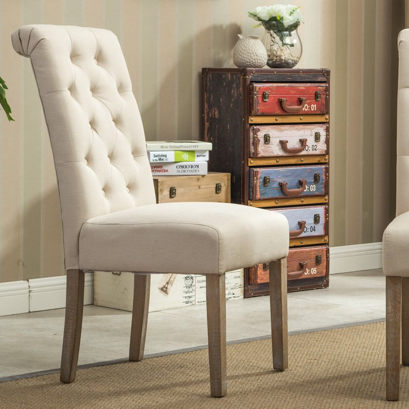 Stunning Tufted Dining Chair Tufted Dining Chairs Youll Love Wayfair