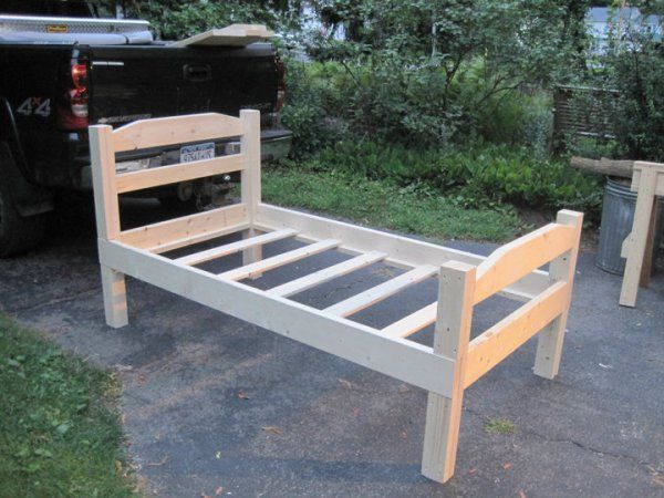 Stunning Twin Size Bed Frame Best 25 Twin Bed Frames Ideas On Pinterest Diy Twin Bed Frame