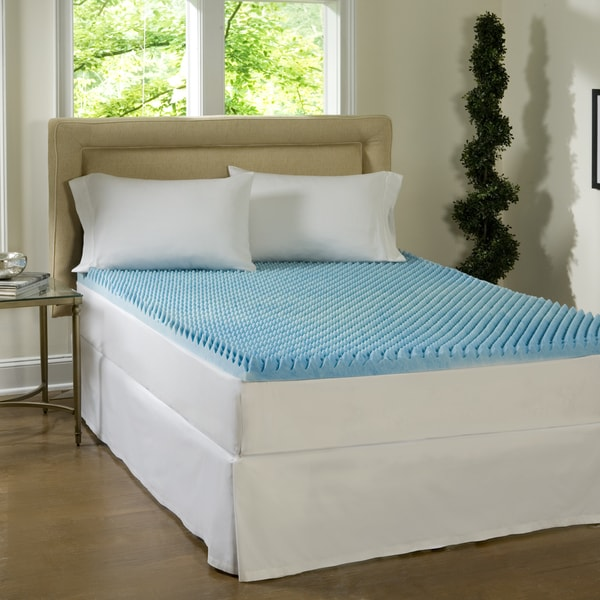 Stunning Twin Size Bed Topper Comforpedic Loft From Beautyrest Dorm 4 Inch Textured Gel Memory