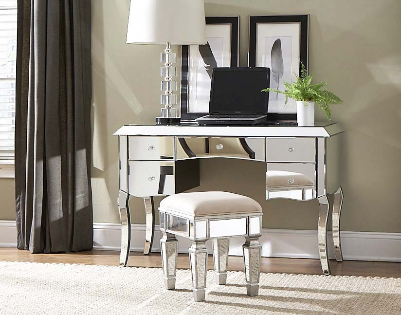 Stunning Vanity With Mirror And Stool Charming Vanity Table With Mirror Doherty House