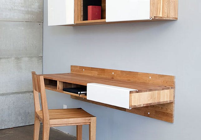 Stunning Wall Mounted Desk 17 Wall Mounted Desks To Make The Most Of Your Small Space Brit Co