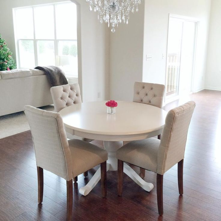 Stunning White Cushioned Dining Chairs Best 25 Tufted Dining Chairs Ideas On Pinterest Dining Room