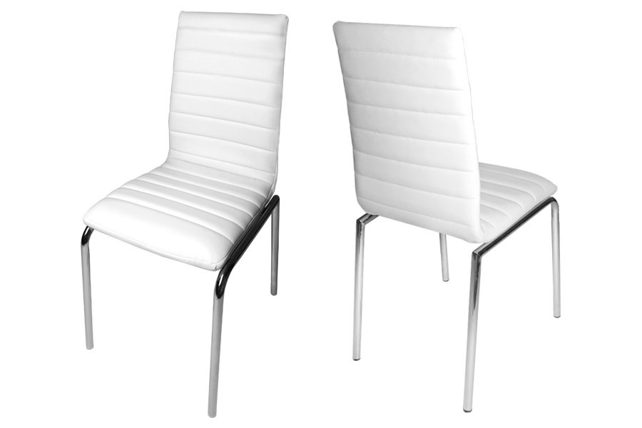 Stunning White Dining Chairs Modern White Leather Dining Chairs Dining Chairs Design Ideas