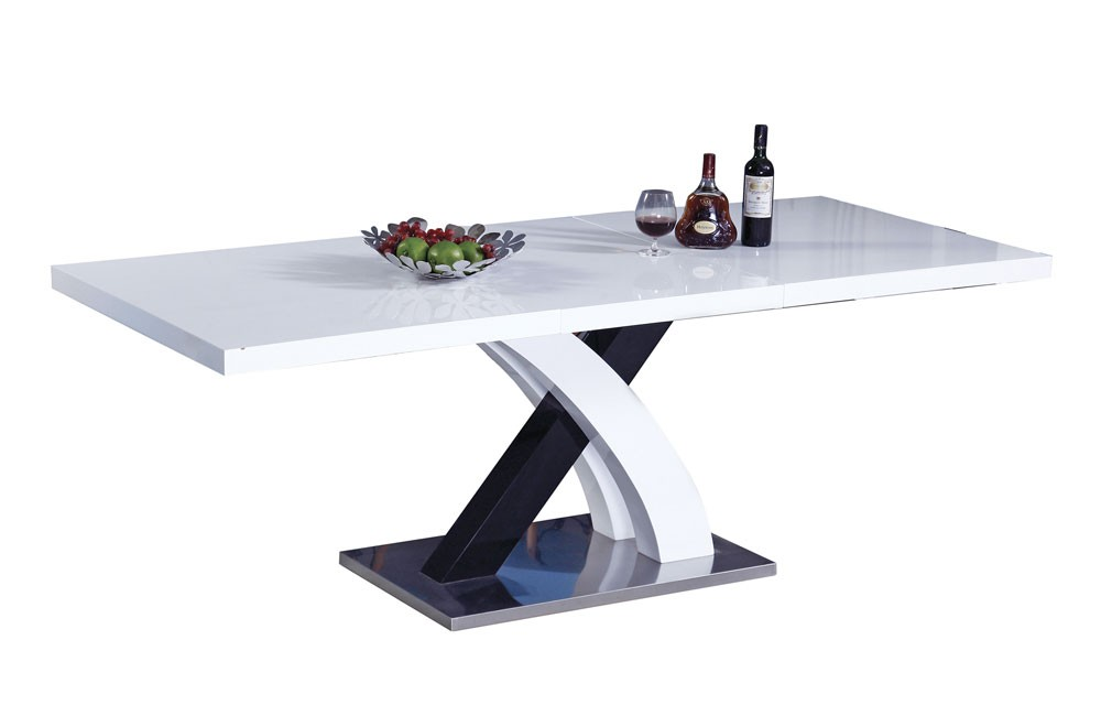 Stunning White Lacquer Dining Table Modern Modern Dining Table White Lacquer